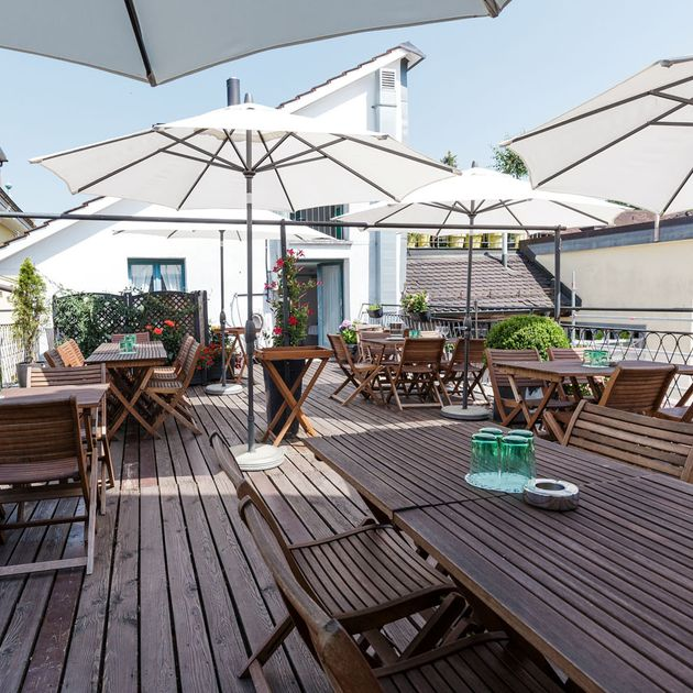 Terrace bar – Hotel Hirschen in Zürich